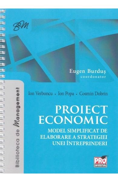 Proiect economic - Eugen Burdus, Ion Verboncu, Ion popa
