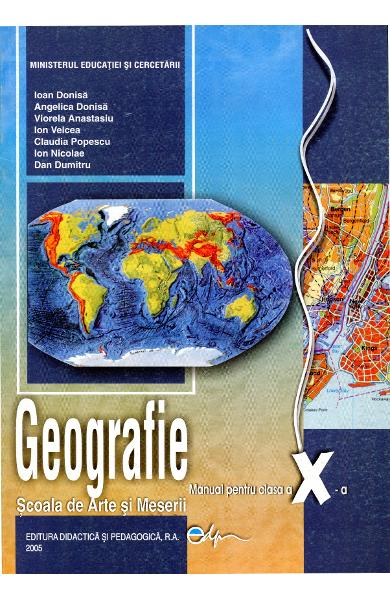 Geografie cls 10 SAM - Ioan Donisa, Angelica Donisa