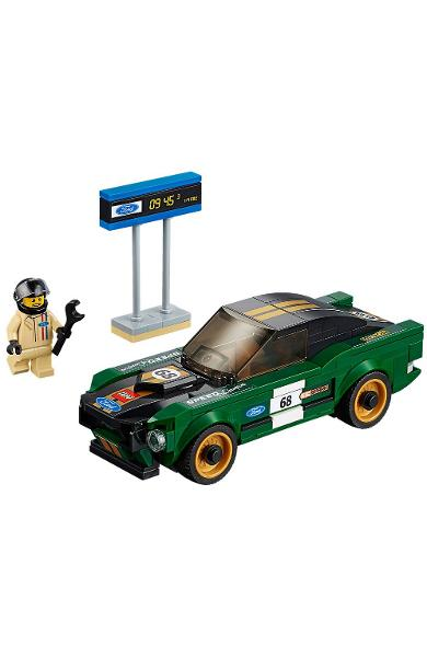 Lego Speed Champions. Ford Mustang Fastback