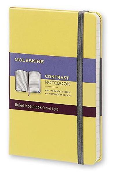 Moleskine Contrast notebook hard ruled notebook Yellow