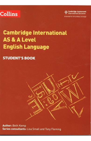 Cambridge International AS & A Level English Language Studen