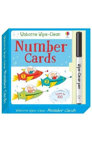 Wipe-Clean Number Cards - Felicity Brooks