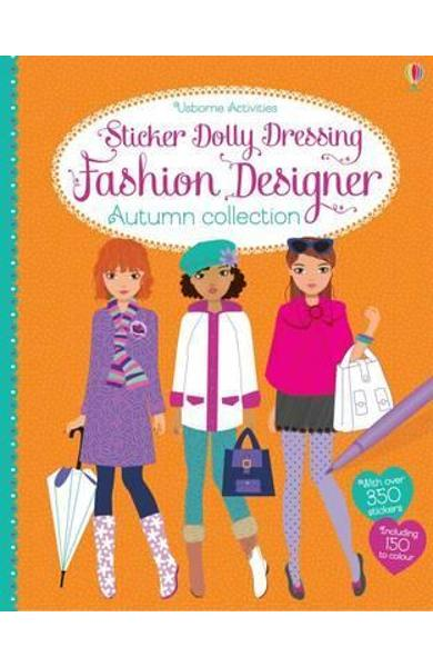 Sticker Dolly Dressing Fashion Designer Autumn Collection - Fiona Watt