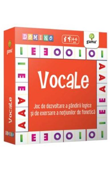 Vocale. Domino 4-6 ani