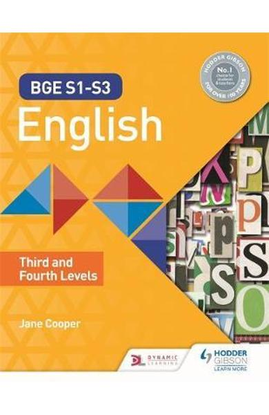 BGE S1-S3 English: Third and Fourth Levels - Jane Cooper