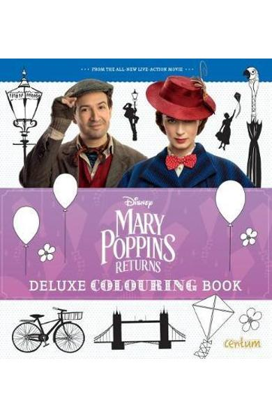 Mary Poppins Returns Deluxe Colouring Book