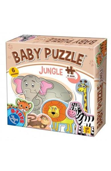 Baby puzzle - Jungle