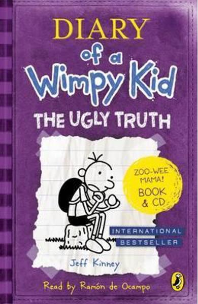 Diary of a Wimpy Kid: The Ugly Truth book & CD - Jeff Kinney