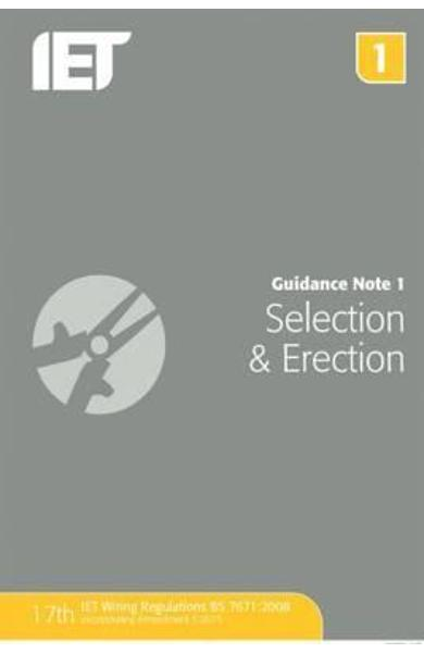 Guidance Note 1: Selection & Erection
