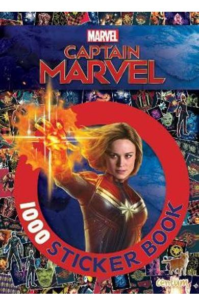 Captain Marvel 1000 Sticker Book
