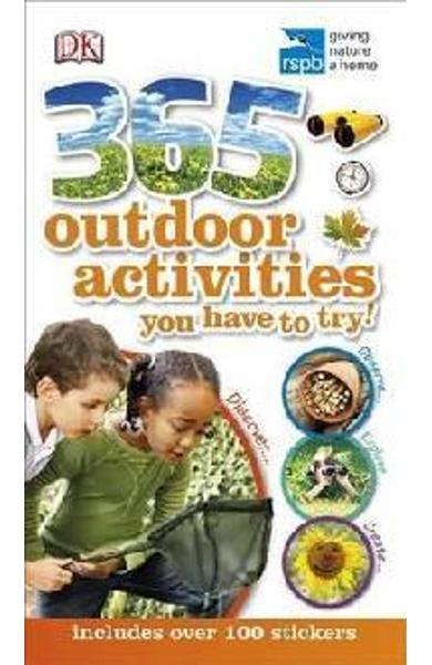 RSPB 365 Outdoor Activities You Have to Try -