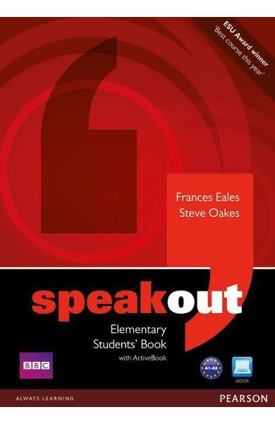 Speakout Elementary Students book and DVD/Active Book Multi - Frances Eales
