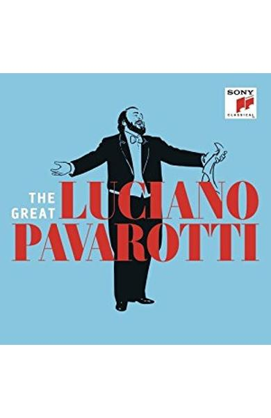 3CD The great Luciano Pavarotti