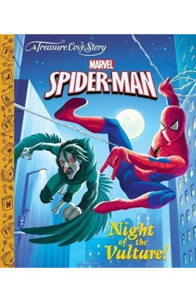 Treasure Cove Story - Spiderman - Night of the Vulture