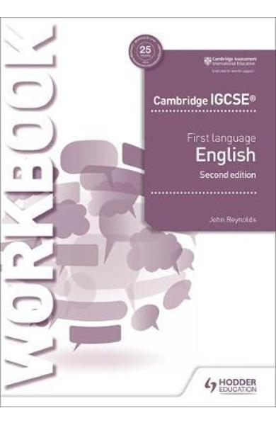 Cambridge IGCSE First Language English Workbook 2nd edition