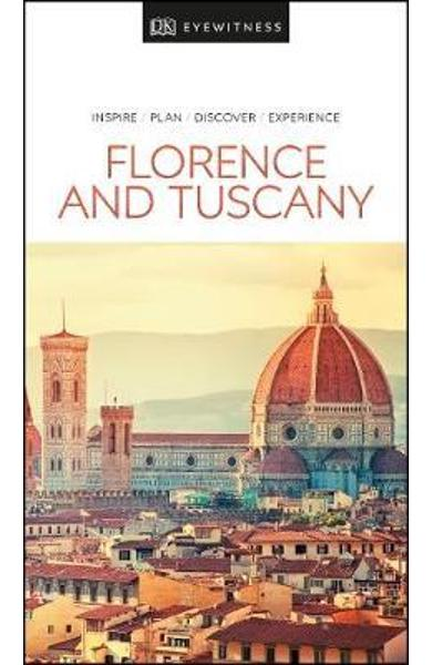 DK Eyewitness Travel Guide Florence and Tuscany -