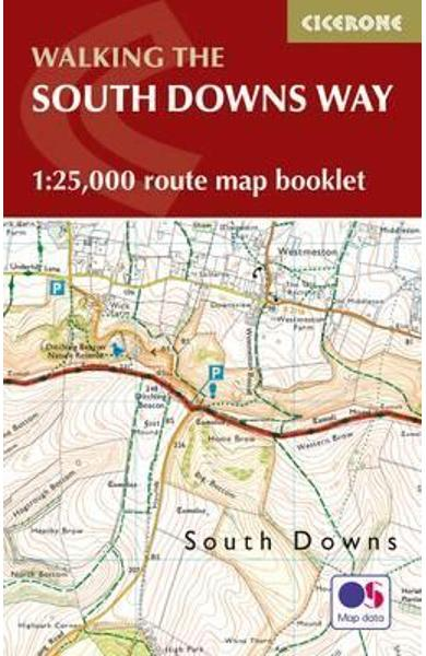 South Downs Way Map Booklet