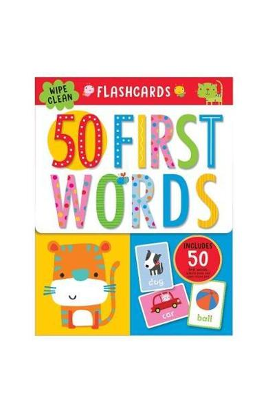 First 50 Words Flashcards