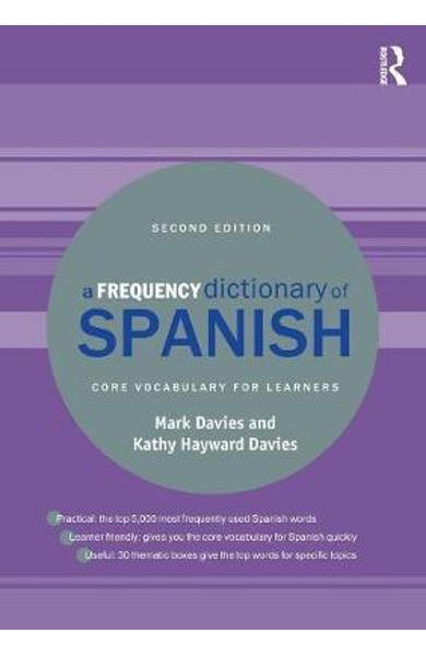 Frequency Dictionary of Spanish