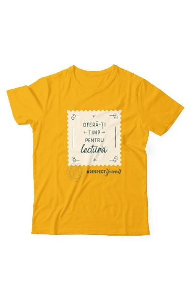 Tricou Libris Respect Yourself - Copii - 12 Ani