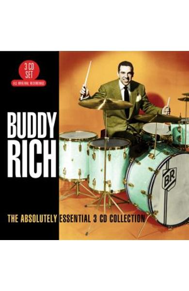 3CD Buddy Rich - The absolutely essential 3CD collection
