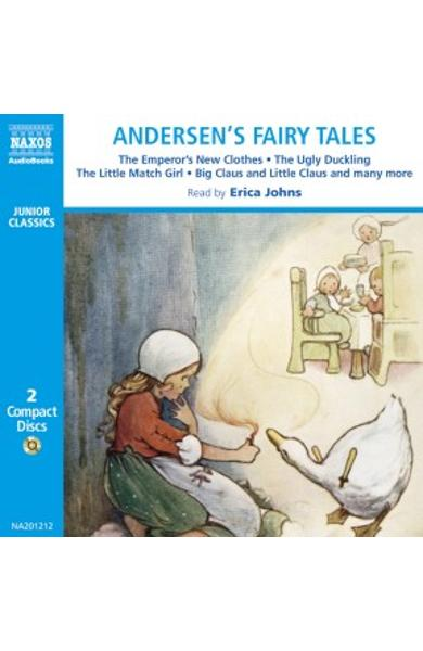 2CD Andersens fairy tales: The emperors new clothes, The ugly duckling, The little match girl, Big Claus and Little Claus and many more