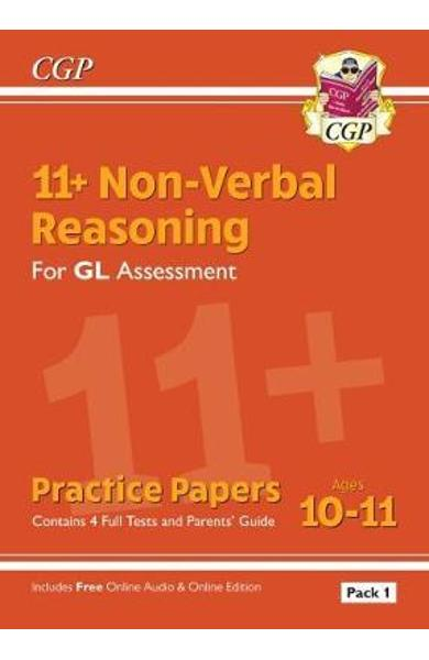 New 11+ GL Non-Verbal Reasoning Practice Papers: Ages 10-11 -