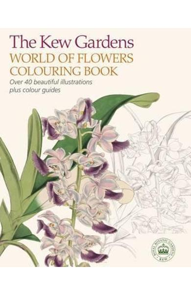 Kew Gardens World of Flowers Colouring Book