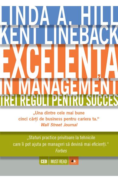 Excelenta In Management - Linda A. Hill, Kent Lineback