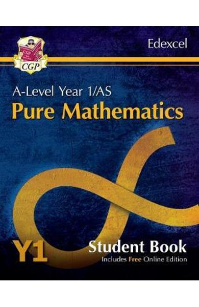 New A-Level Maths for Edexcel: Pure Mathematics - Year 1/AS -
