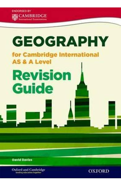 Geography for Cambridge International as and A Level Revisio