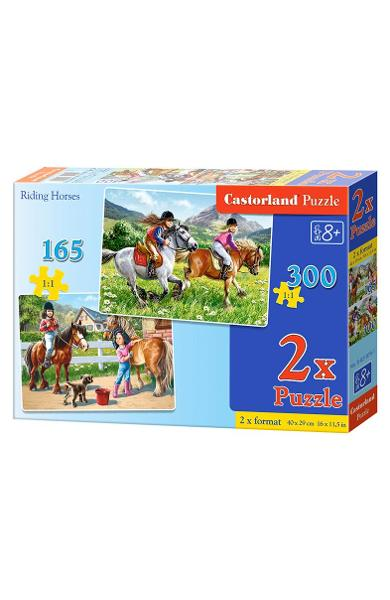 Puzzle 2 in 1 - Riding Horses