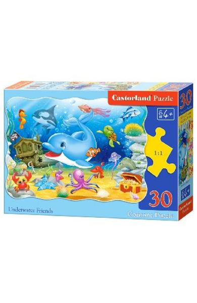 Puzzle 30 - Underwater Friends