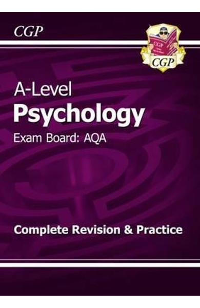 New 2015 A-Level Psychology: AQA Year 1 & 2 Complete Revisio
