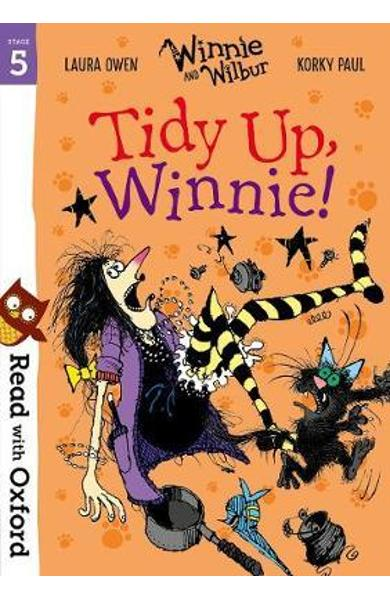 Read with Oxford: Stage 5: Winnie and Wilbur: Tidy Up, Winni