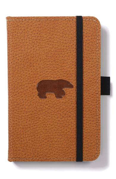 Dingbats* Wildlife A6 Pocket Brown Bear Notebook - Plain