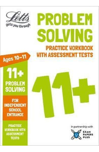 Letts 11+ Problem Solving - Practice Workbook with Assessmen
