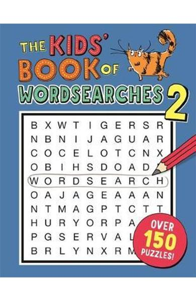 Kids' Book of Wordsearches 2 - Gareth Moore
