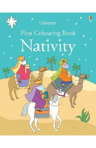 First Colouring Book Nativity - Felicity Brooks