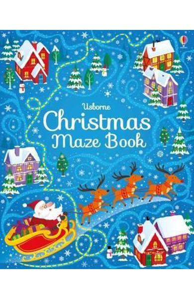 Christmas Maze Book - Sam Smith