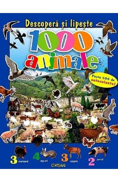 Descopera si lipeste 1000 animale