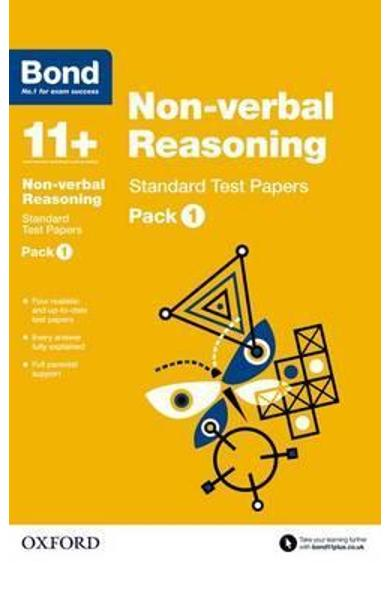 Bond 11+: Non-verbal Reasoning: Standard Test Papers -
