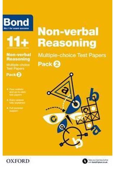 Bond 11+: Non-verbal Reasoning: Multiple-choice Test Papers -