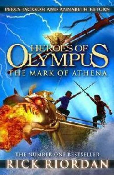 Mark of Athena (Heroes of Olympus Book 3) - Rick Riordan