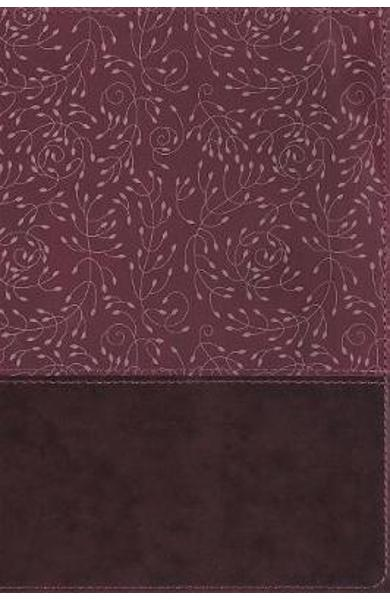 NRSV, Thinline Reference Bible, Leathersoft, Burgundy, Thumb -