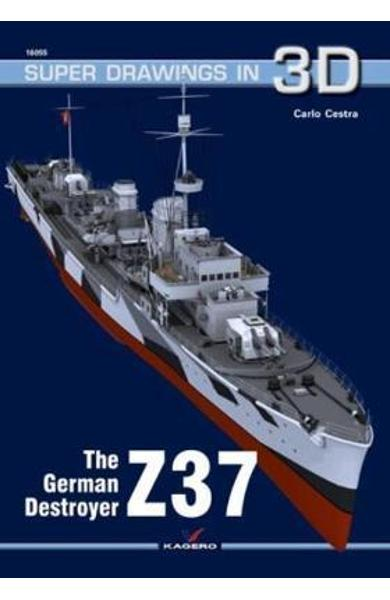 German Destroyer Z37 - Carlo Cestra