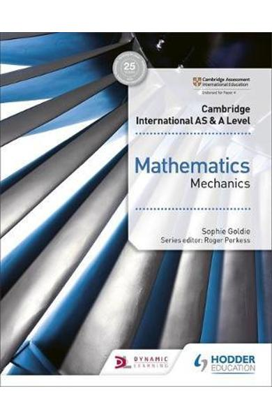 Cambridge International AS & A Level Mathematics Mechanics