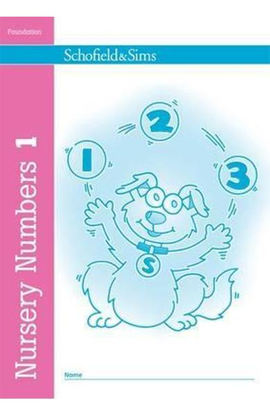 Nursery Numbers Book 1
