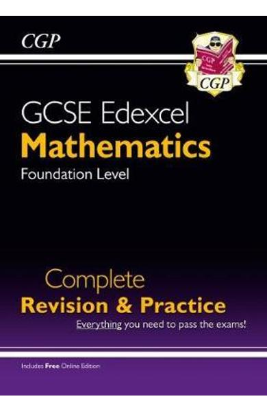 New GCSE Maths Edexcel Complete Revision & Practice: Foundat