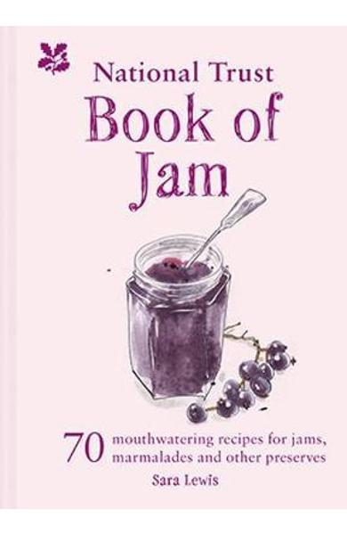 National Trust Book of Jam - Sara Lewis